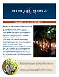 George Eastman Circle Associate Memberships