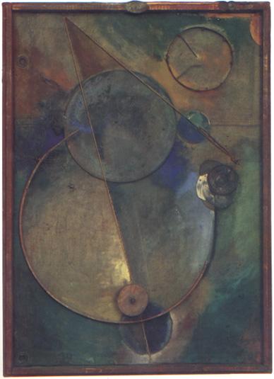Schwitters Das Kreisen 1919