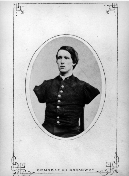 Figure 18 A Carte De Visite Stratton Had Taken In New York City He Sold These Prints To Supplement His Army Pension NCP 3451