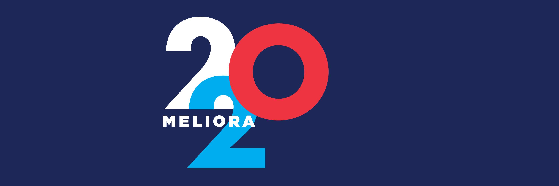 meliora 202 on a dark blue background
