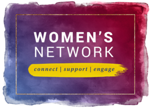 Women's Network word mark - connect, support, engage