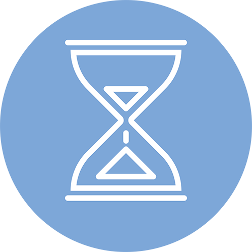 icon of hourglass.