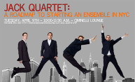 JACK Quartet Returns to Alma Mater