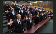 University Peace Officers Sworn In