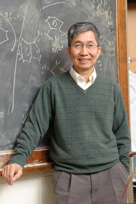 Ching Tang, professor of chemical engineering, at the University of Rochester.