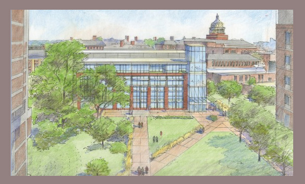 artist rendering of new building
