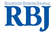 logo for Rochester Business Journal
