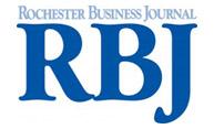 logo for Rochester Business Journal