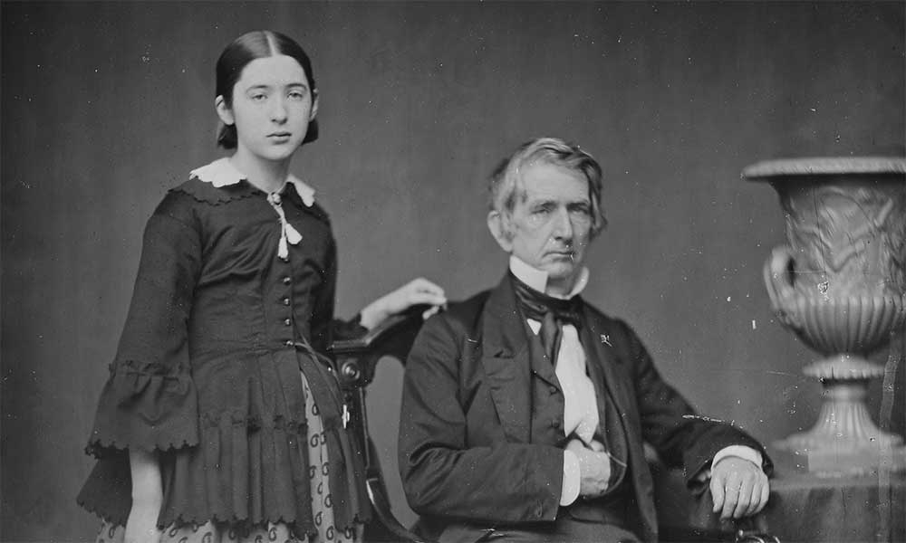 Fanny and William Seward