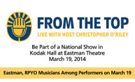 "NPR series ""From the Top"" visits Eastman"