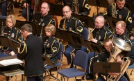 Army Field Band concert a homecoming for some Eastman musicians
