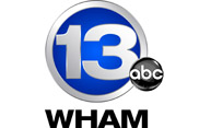 WHAM TV ABC 13 logo