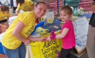 Lemonade sale fights childhood cancer