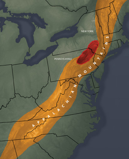 Bend In Appalachian Mountain Chain Finally Explained Newscenter