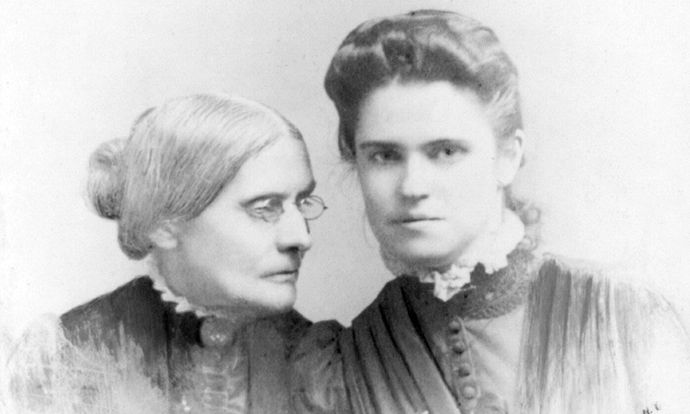 Rachel Foster Avery and Susan Brownell Anthony