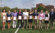 Ten honored as Garnish scholar-athletes