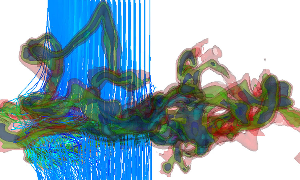 3D computer simulation