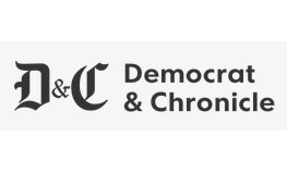 updated logo for the Democrat and Chronicle