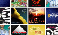 collage featuring lots of different album covers from a cappella groups