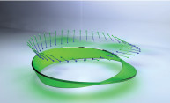 Generating Möbius strips of light