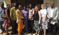 Rochester delegation visits University of Ghana looking for synergies