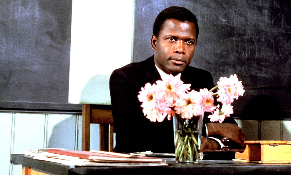 still of Sidney Poitier in To Sir with Love