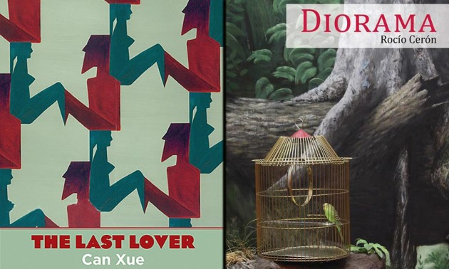 book covers for The Last Lover and Diorama