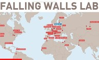 map graphic showing the locations of Falling Walls Labs around the world