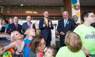 Golisano Children's Hospital dedication celebrates kids, future