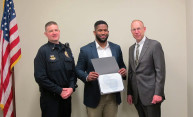 Xerox employee honored by Public Safety for selfless action