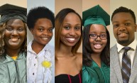 Five students named recipients of 2015 Susan B. Anthony Center Urban Scholar Award