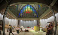 Renovations at Interfaith Chapel