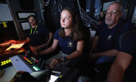 Summer at sea puts mechanical engineering student in pilot's seat