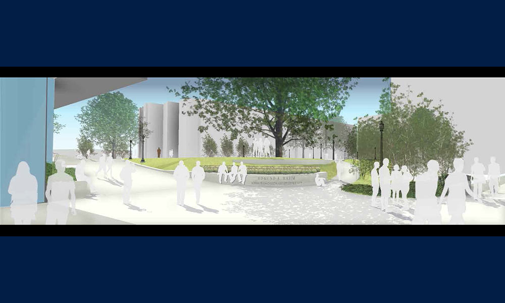 Awe Inspiring New Science Engineering Quadrangle Being Designed To Creativecarmelina Interior Chair Design Creativecarmelinacom