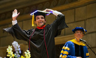 Commencement Weekend to include new master's degree ceremony