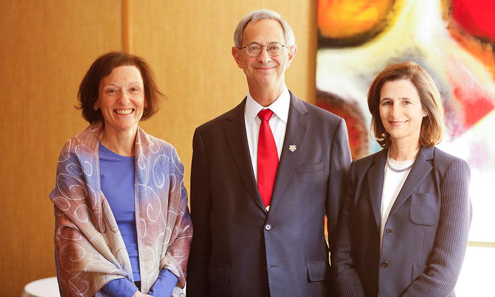 Barbara Burger, Joel Seligman, Mary Ann Mavrinac