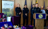 Public Safety joins Willow Center's Purple Box collection