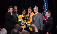 Historic economic development award celebrated
