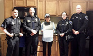 Public Safety honors local woman for life-saving encounter
