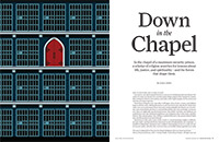 Down in the Chapel Read an excerpt from Dubler's 2013 book, an ethnography of the historic Graterford Prison near Philadelphia.