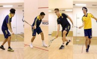 Squash team has four All-Americans