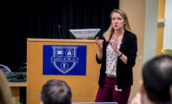 Toxicology student sweeps awards at Three Minute Thesis competition