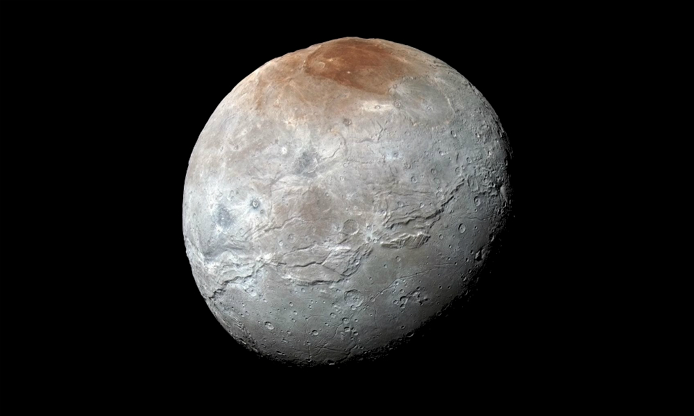 Photo of Pluto' s moon Charon