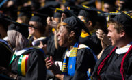 The main thing to do this weekend: celebrate commencement