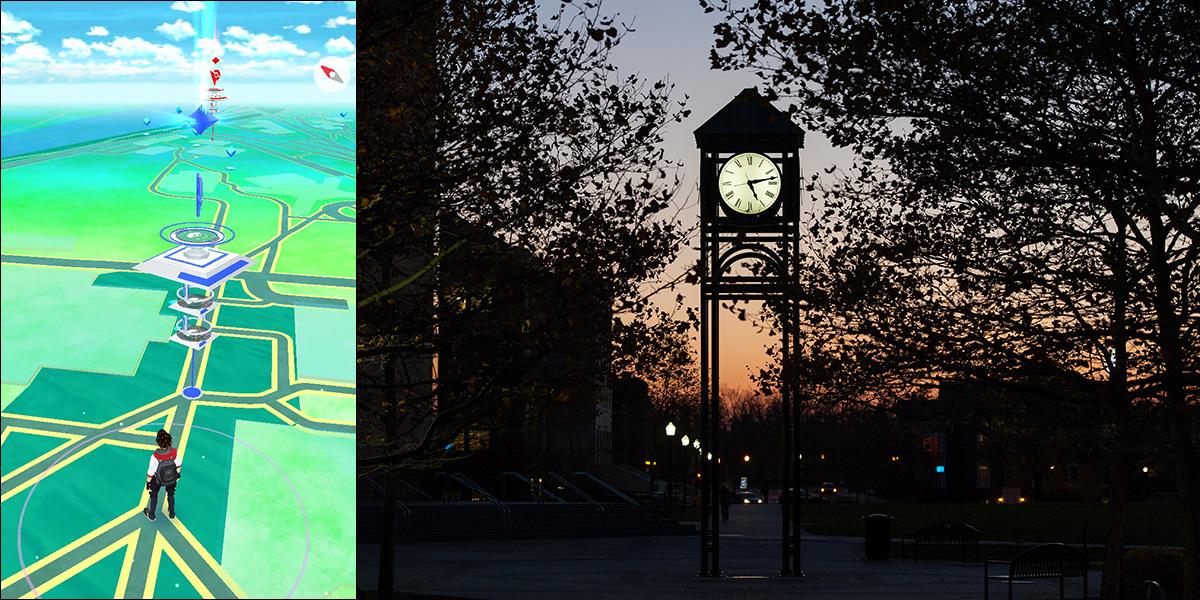 screenshot of Dandelion Square in Pokemon game