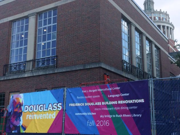 Image of newly renovated Frederick Douglass Building