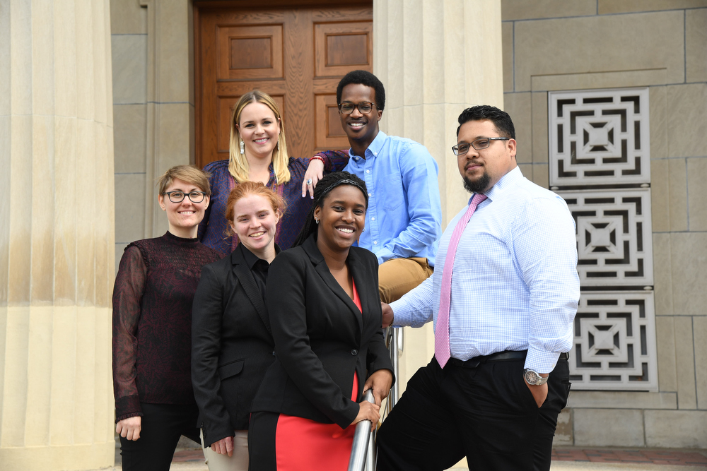 group portrait of Admissions counselors