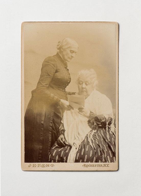 photo of Susan B. Anthony and Elizabeth Cady Stanton