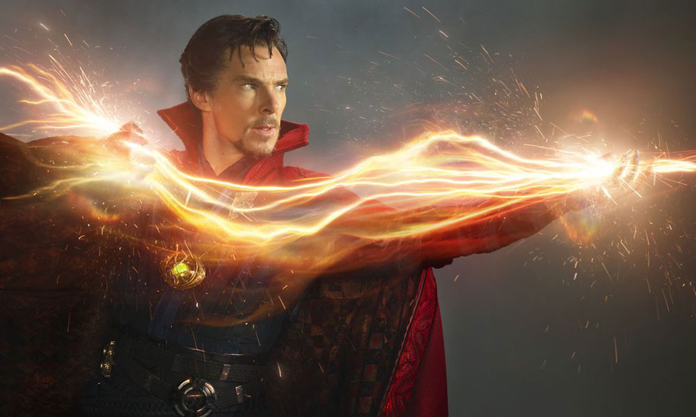 actor Benedict Cumberbatch as Doctor Strange