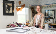 Eastman musician has 'hidden passion' for fabrics with flow